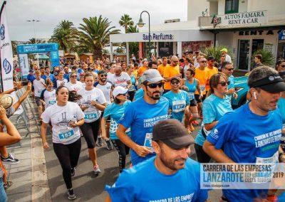 Carrera Empresas Lanzarote 2019 colegioarenas