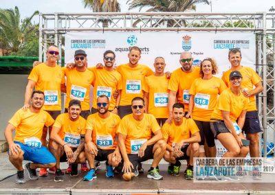 Podium y PhotoCall Carrera Empresas Lanzarote 2019 Fotos Alsolajero.com-10