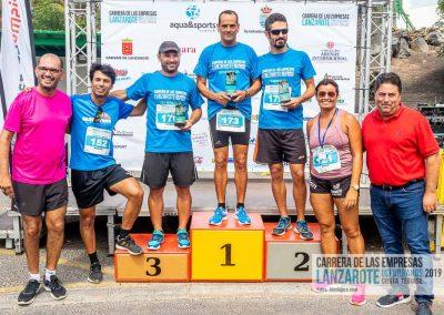 Podium y PhotoCall Carrera Empresas Lanzarote 2019 Fotos Alsolajero.com-103