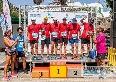 Podium y PhotoCall Carrera Empresas Lanzarote 2019 Fotos Alsolajero.com-108