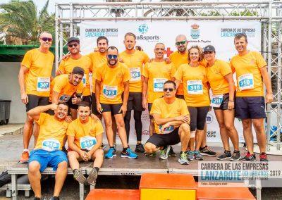 Podium y PhotoCall Carrera Empresas Lanzarote 2019 Fotos Alsolajero.com-11