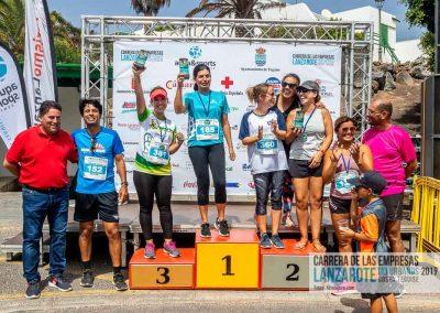 Podium y PhotoCall Carrera Empresas Lanzarote 2019 Fotos Alsolajero.com-111
