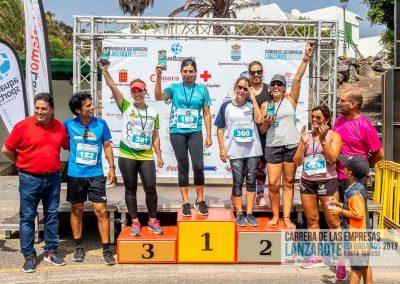 Podium y PhotoCall Carrera Empresas Lanzarote 2019 Fotos Alsolajero.com-112