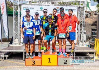 Podium y PhotoCall Carrera Empresas Lanzarote 2019 Fotos Alsolajero.com-113