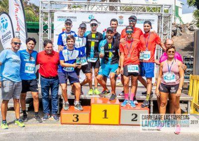 Podium y PhotoCall Carrera Empresas Lanzarote 2019 Fotos Alsolajero.com-114