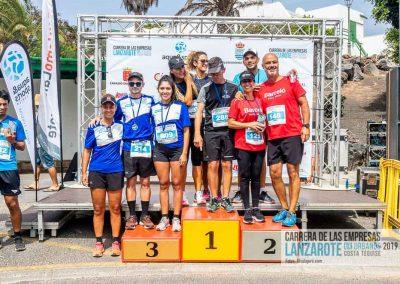 Podium y PhotoCall Carrera Empresas Lanzarote 2019 Fotos Alsolajero.com-115