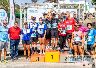 Podium y PhotoCall Carrera Empresas Lanzarote 2019 Fotos Alsolajero.com-116