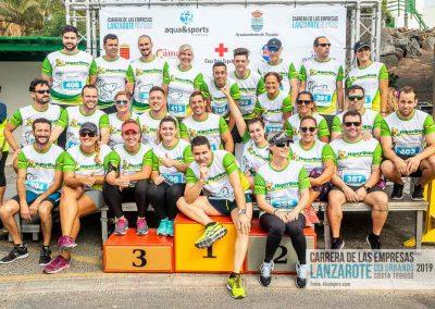 Podium y PhotoCall Carrera Empresas Lanzarote 2019 Fotos Alsolajero.com-16