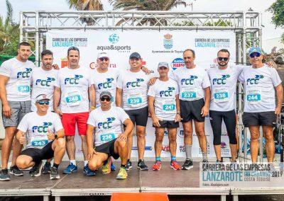Podium y PhotoCall Carrera Empresas Lanzarote 2019 Fotos Alsolajero.com-18
