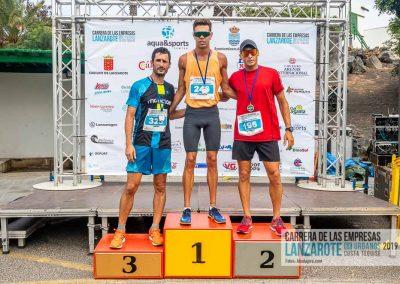 Podium y PhotoCall Carrera Empresas Lanzarote 2019 Fotos Alsolajero.com-22