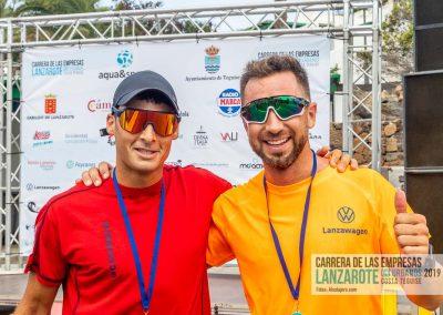 Podium y PhotoCall Carrera Empresas Lanzarote 2019 Fotos Alsolajero.com-23