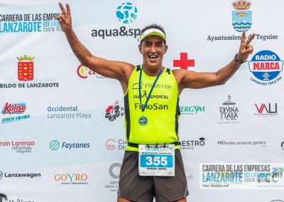 Podium y PhotoCall Carrera Empresas Lanzarote 2019 Fotos Alsolajero.com-25