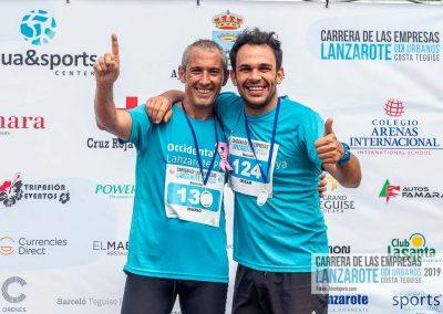 Podium y PhotoCall Carrera Empresas Lanzarote 2019 Fotos Alsolajero.com-31
