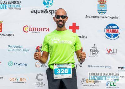 Podium y PhotoCall Carrera Empresas Lanzarote 2019 Fotos Alsolajero.com-32