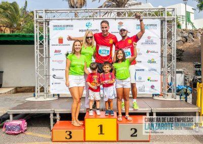 Podium y PhotoCall Carrera Empresas Lanzarote 2019 Fotos Alsolajero.com-34