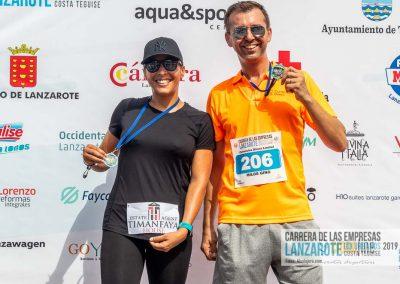 Podium y PhotoCall Carrera Empresas Lanzarote 2019 Fotos Alsolajero.com-39
