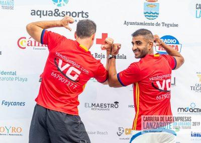 Podium y PhotoCall Carrera Empresas Lanzarote 2019 Fotos Alsolajero.com-4