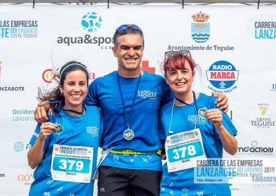 Podium y PhotoCall Carrera Empresas Lanzarote 2019 Fotos Alsolajero.com-41