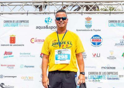 Podium y PhotoCall Carrera Empresas Lanzarote 2019 Fotos Alsolajero.com-43