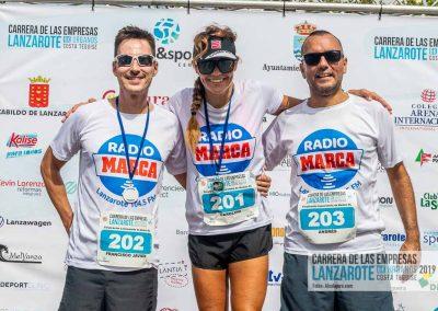 Podium y PhotoCall Carrera Empresas Lanzarote 2019 Fotos Alsolajero.com-45
