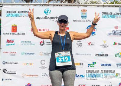 Podium y PhotoCall Carrera Empresas Lanzarote 2019 Fotos Alsolajero.com-46