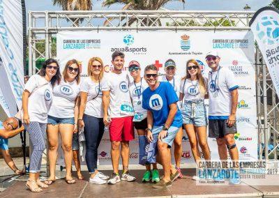 Podium y PhotoCall Carrera Empresas Lanzarote 2019 Fotos Alsolajero.com-49