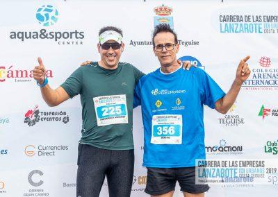 Podium y PhotoCall Carrera Empresas Lanzarote 2019 Fotos Alsolajero.com-5