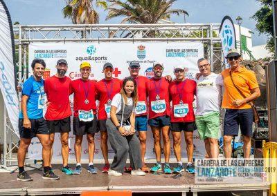 Podium y PhotoCall Carrera Empresas Lanzarote 2019 Fotos Alsolajero.com-50