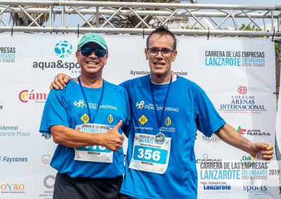 Podium y PhotoCall Carrera Empresas Lanzarote 2019 Fotos Alsolajero.com-51
