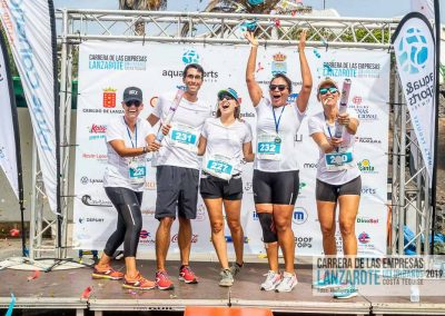 Podium y PhotoCall Carrera Empresas Lanzarote 2019 Fotos Alsolajero.com-56