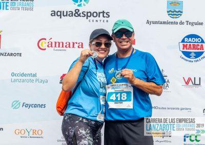 Podium y PhotoCall Carrera Empresas Lanzarote 2019 Fotos Alsolajero.com-57