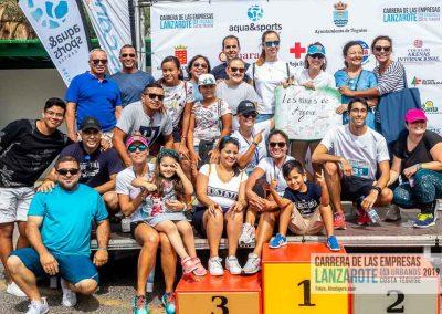 Podium y PhotoCall Carrera Empresas Lanzarote 2019 Fotos Alsolajero.com-58
