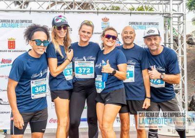 Podium y PhotoCall Carrera Empresas Lanzarote 2019 Fotos Alsolajero.com-6
