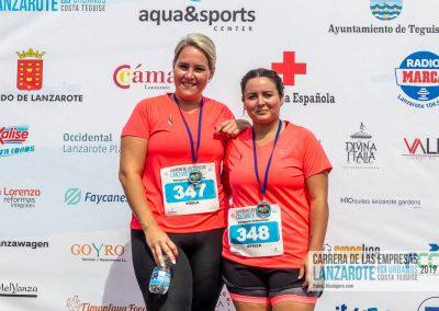 Podium y PhotoCall Carrera Empresas Lanzarote 2019 Fotos Alsolajero.com-60