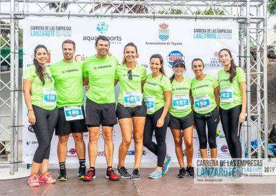 Podium y PhotoCall Carrera Empresas Lanzarote 2019 Fotos Alsolajero.com-7