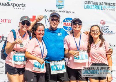 Podium y PhotoCall Carrera Empresas Lanzarote 2019 Fotos Alsolajero.com-72