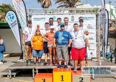 Podium y PhotoCall Carrera Empresas Lanzarote 2019 Fotos Alsolajero.com-74