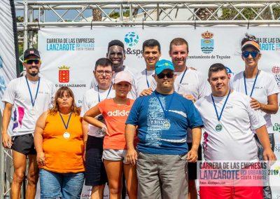 Podium y PhotoCall Carrera Empresas Lanzarote 2019 Fotos Alsolajero.com-75