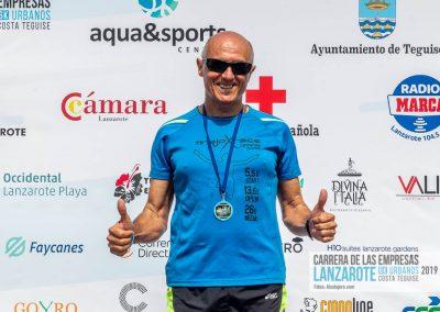 Podium y PhotoCall Carrera Empresas Lanzarote 2019 Fotos Alsolajero.com-79