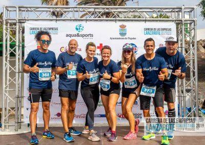 Podium y PhotoCall Carrera Empresas Lanzarote 2019 Fotos Alsolajero.com-8