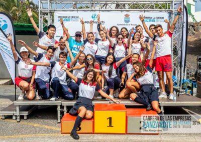 Podium y PhotoCall Carrera Empresas Lanzarote 2019 Fotos Alsolajero.com-85