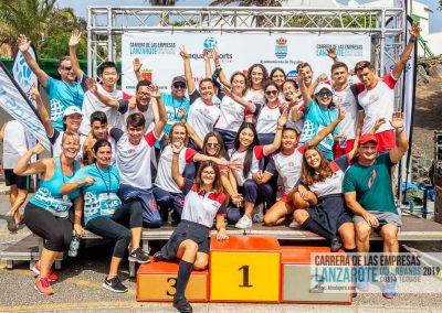 Podium y PhotoCall Carrera Empresas Lanzarote 2019 Fotos Alsolajero.com-86