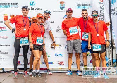 Podium y PhotoCall Carrera Empresas Lanzarote 2019 Fotos Alsolajero.com-89