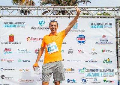 Podium y PhotoCall Carrera Empresas Lanzarote 2019 Fotos Alsolajero.com-9
