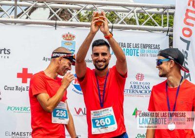 Podium y PhotoCall Carrera Empresas Lanzarote 2019 Fotos Alsolajero.com-90