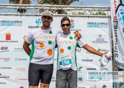 Podium y PhotoCall Carrera Empresas Lanzarote 2019 Fotos Alsolajero.com-91