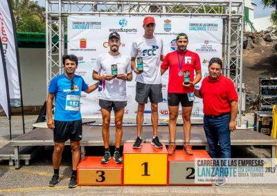 Podium y PhotoCall Carrera Empresas Lanzarote 2019 Fotos Alsolajero.com-97
